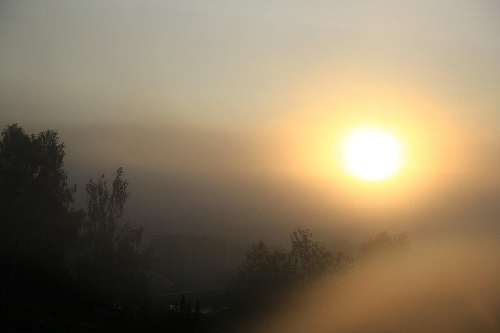 Рассвет в Златоусте
