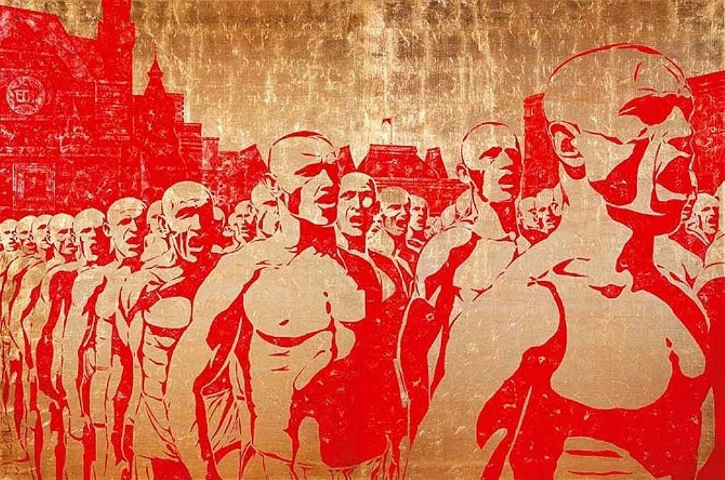 Алексей Беляев-Гинтовт, Левый марш II