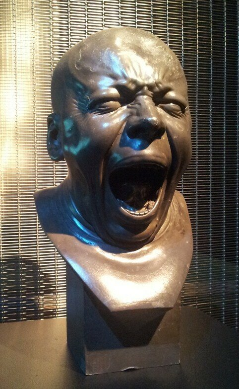 Зевающий, ок. 1770,Мессершмидт, Франц Ксавер(1736 – 1783); The Yawning c.1770, Franz Xaver Messerschmidt (1736 – 1783)