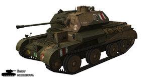 Шкурка для танка A13 Mk. II Cr. Tank Mk. IV