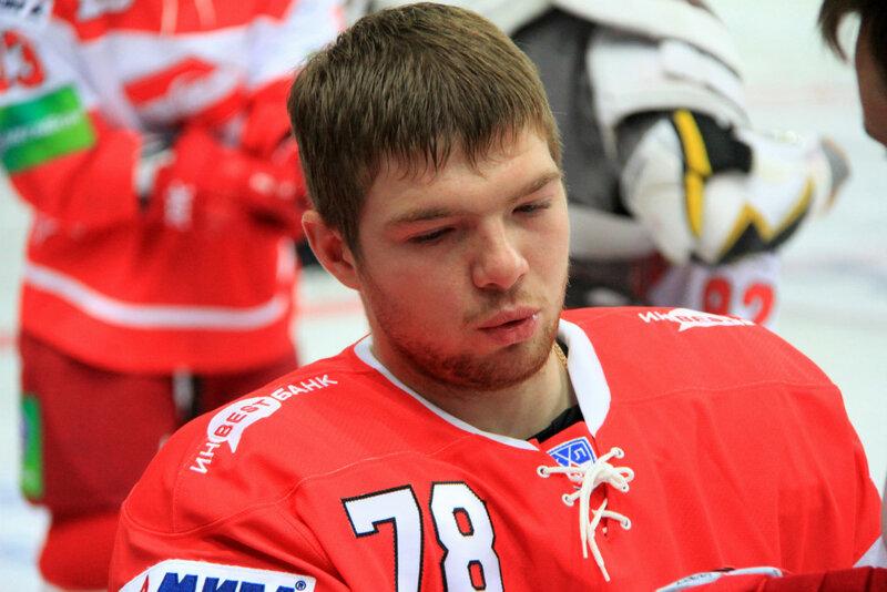 Фотосессия и тренировка хоккейного «Спартака» (Фото)