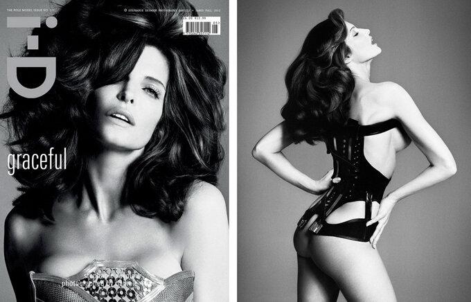 Стефани Сеймур обнажилась для i-D Magazine