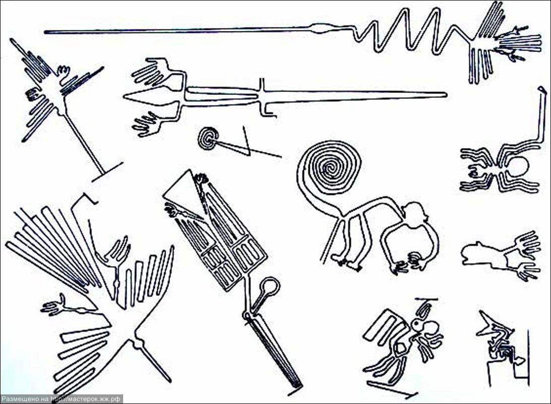 рисунки в перу:
