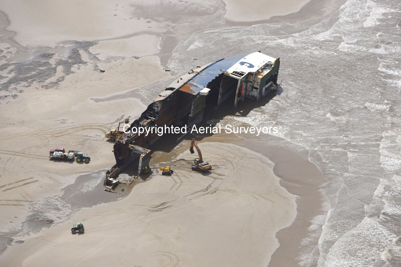 Riverdance Car Ferry Shipwrecked Poulton Le Fylde Lancashire