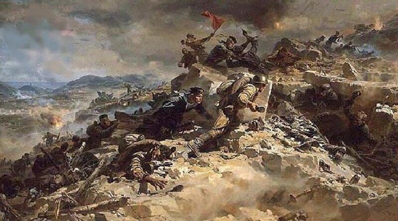 картинки вов бой, схватка, сражение, поле, холм, атака, наступление, русские, солдаты, отвага, вечная, память обои.