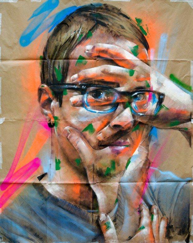 Multi, Художники граффити и стрит арт 5