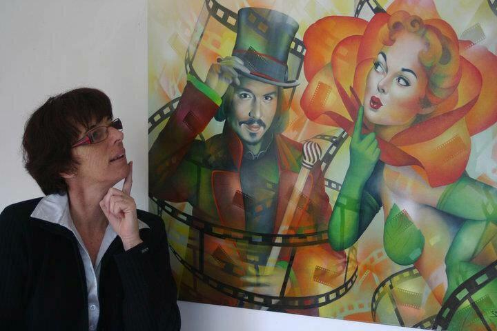 Jeannette Guichard-Bunel. Pin Up с сюрреализмом и юмором 33