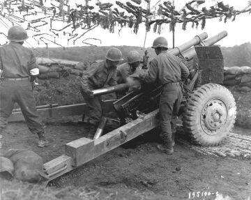 442 боевая группа, 552 артиллерийский батальон