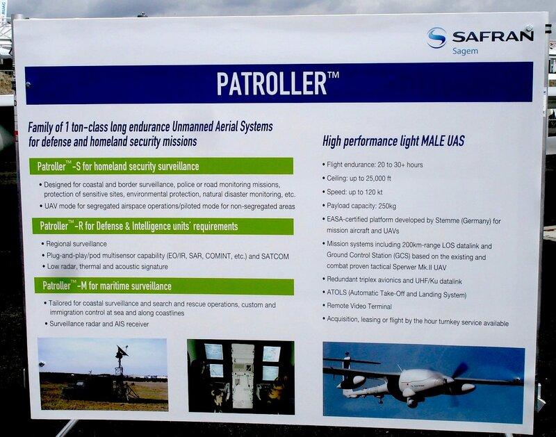 Беспилотный летательный аппарат Patroller