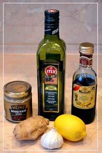 Продукты для заправки салата