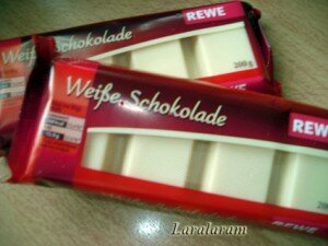 Белый шоколад для карамели
