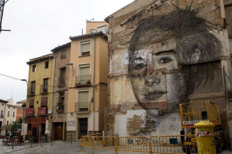 Уличное искусство. Jorge Rodriguez-Gerada 13