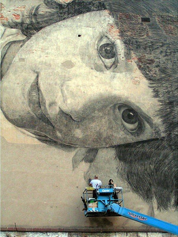 Уличное искусство. Jorge Rodriguez-Gerada 17