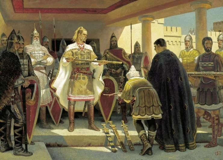 Предание о Святославе