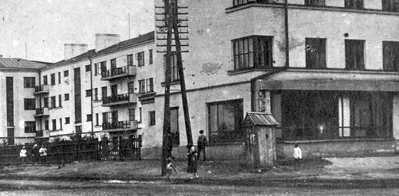 Будка на проспекте Маркса
