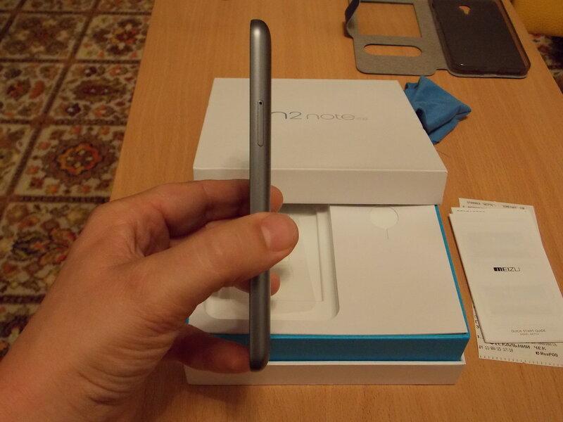Meizu M2 Note (справа)