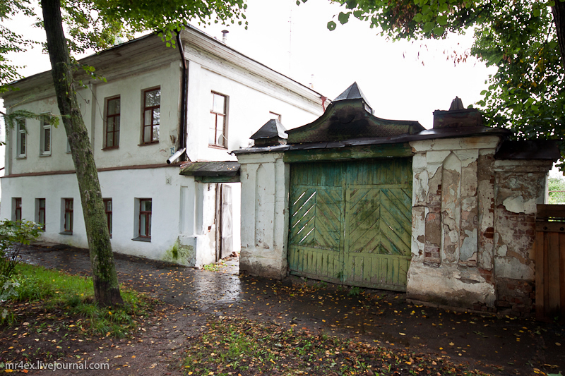 Кремлевская улица в Суздале