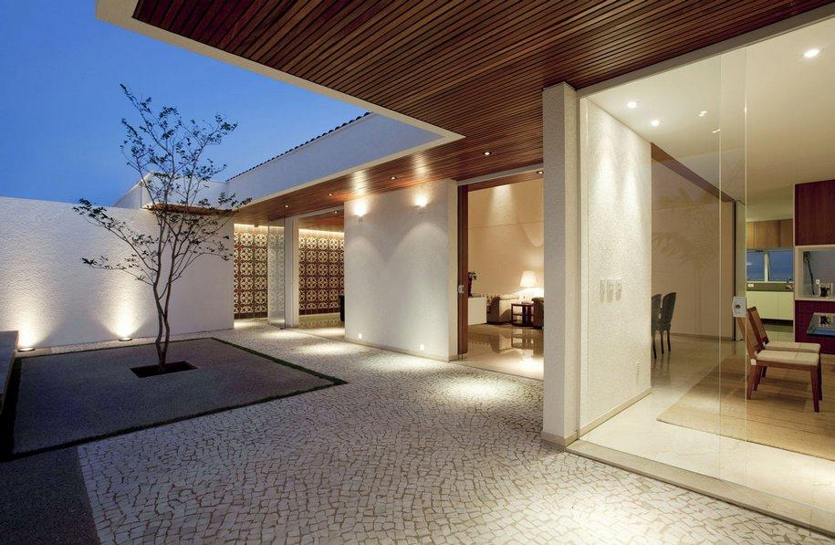 Лаконичный дизайн Gedda House в Бразилии