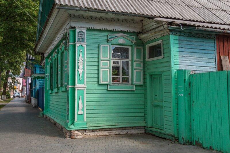 Старые дома, Городец