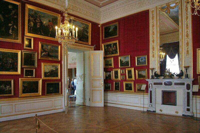 Гатчинский дворец, Картинный зал