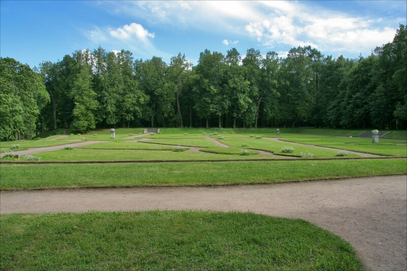 Гатчинский парк, Нижний Голландский сад