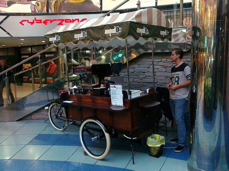 Велокофейня в Метрограде
