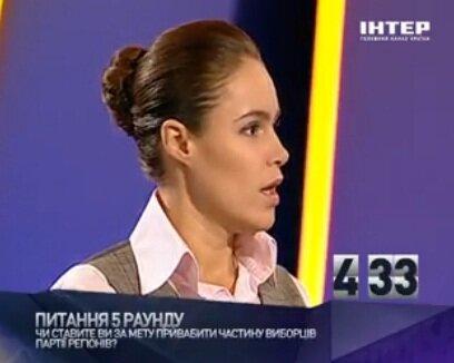 Наталья Королевская на политическом ринге