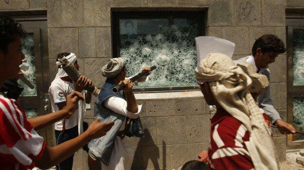 Протесты в мусульманском мире на Ближнем Востоке - Фоторепортаж