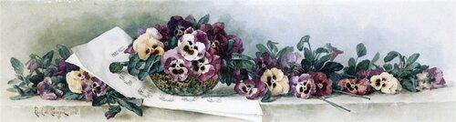 Pansy Waltz, 1896, частная коллекция