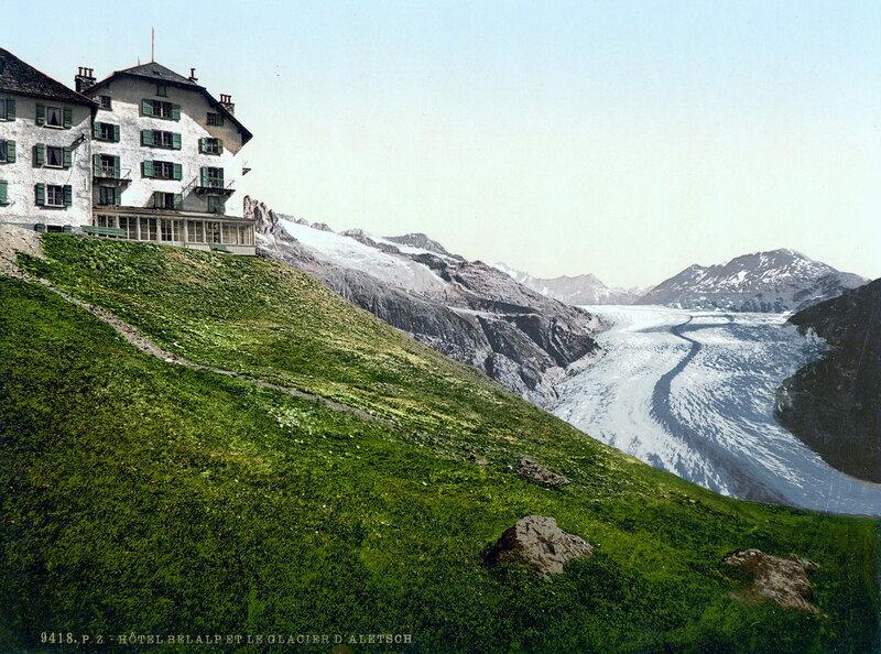 6. Алеч, ледник и отель в Бельальпе