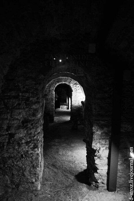 Таллин подземелье