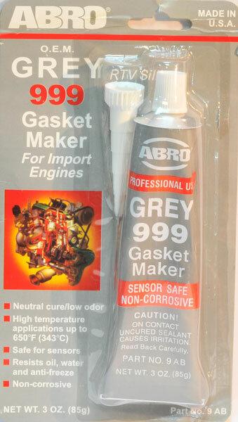 Герметик Abro серый 999 неоригинал