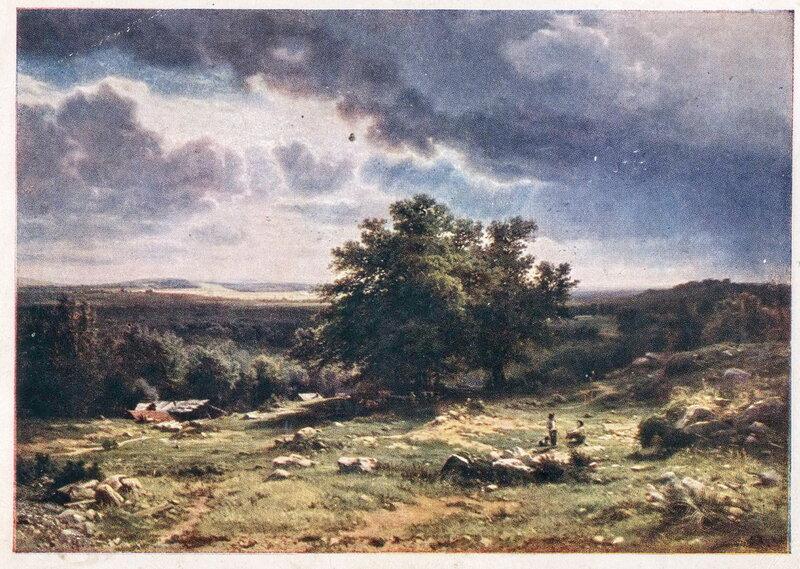 И.И. Шишкин. Вид в окрестностях Дюссельдорфа. 1865 г.