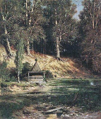 Часовня в лесу. 1890 г. И.И. Шишкин.jpg