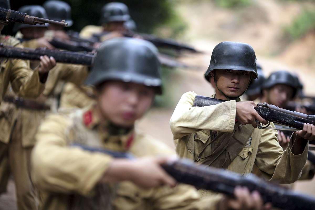 Война и немцы: На съемках китайского телесериала о 2-й мировой войне (2)