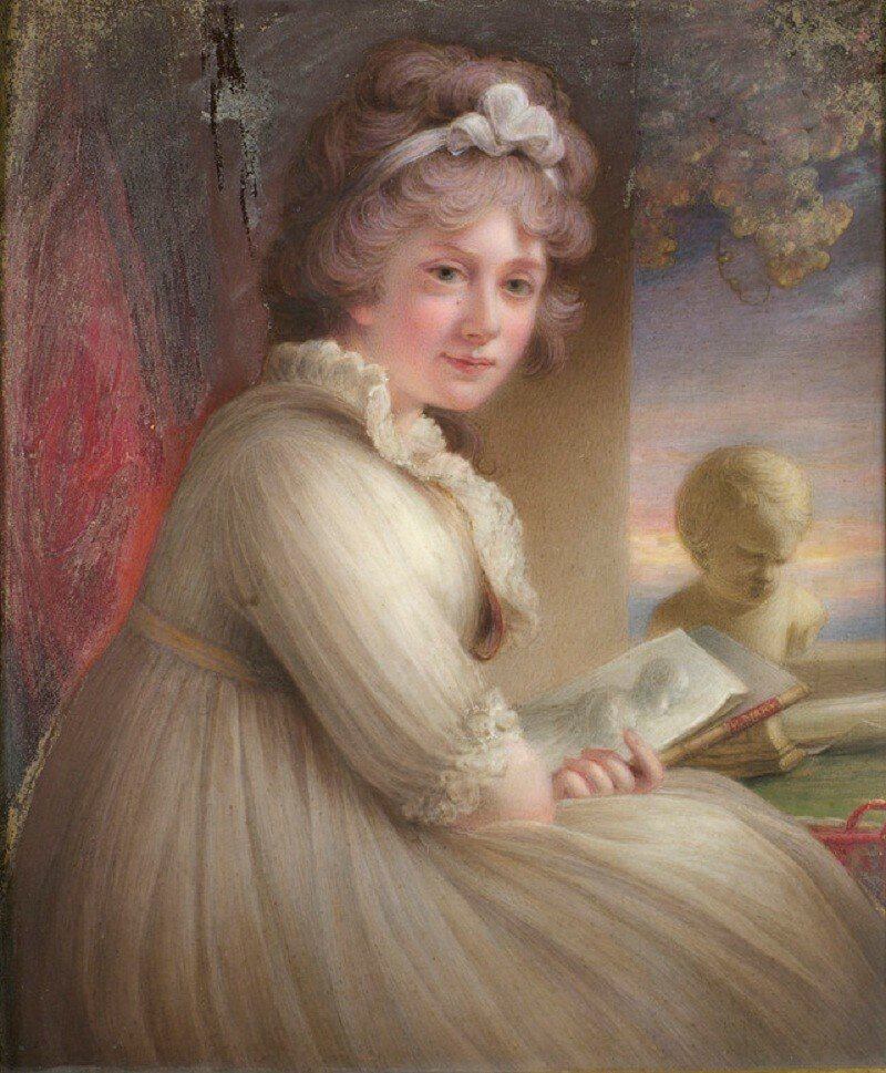 Принцесса Мэри, герцогиня Глостер (1776-1857)  1797
