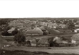 Пригородное село Молоканщина. Вид с железной дороги на юго-восток