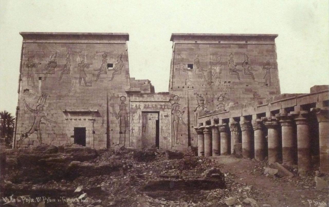 Филе. Первый Пилон храма Исиды