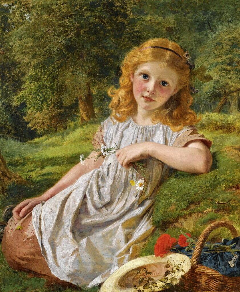 """""""Summer Flowers"""". Софи Жанжамбр Андерсон (1823- 1903)"""