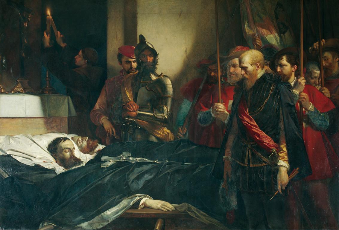 GAASBEEK 2  Louis Gallait, De laatste hulde aan de graven Egmond en Hoorn, 1851, Musée des Beaux-Arts, Doornik.jpg