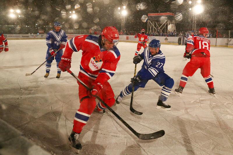 Русская классика в Твери, хоккей