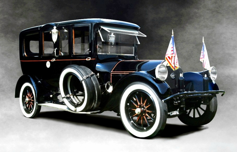 1919 Pierce-Arrow model 51. Лимузин президента Вудро Вильсона.jpg