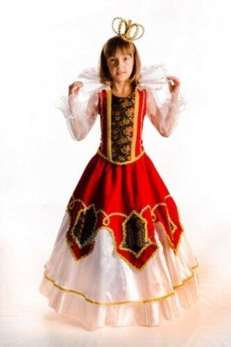 Детский карнавальный костюм Французская королева