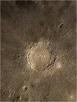 Луна, кратер Коперник. Утро 4.10.2015г.