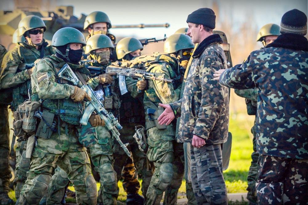 Оккупация Крыма феваль - март 2014