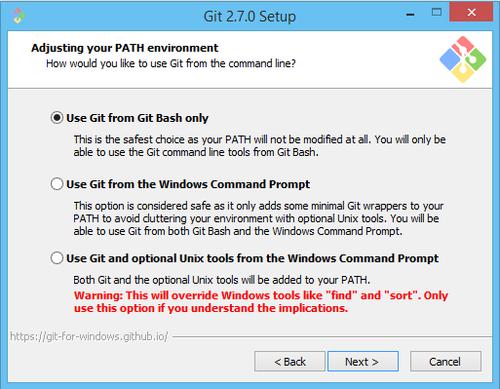 Git installer
