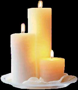 Горящая свеча анимация на прозрачном фоне