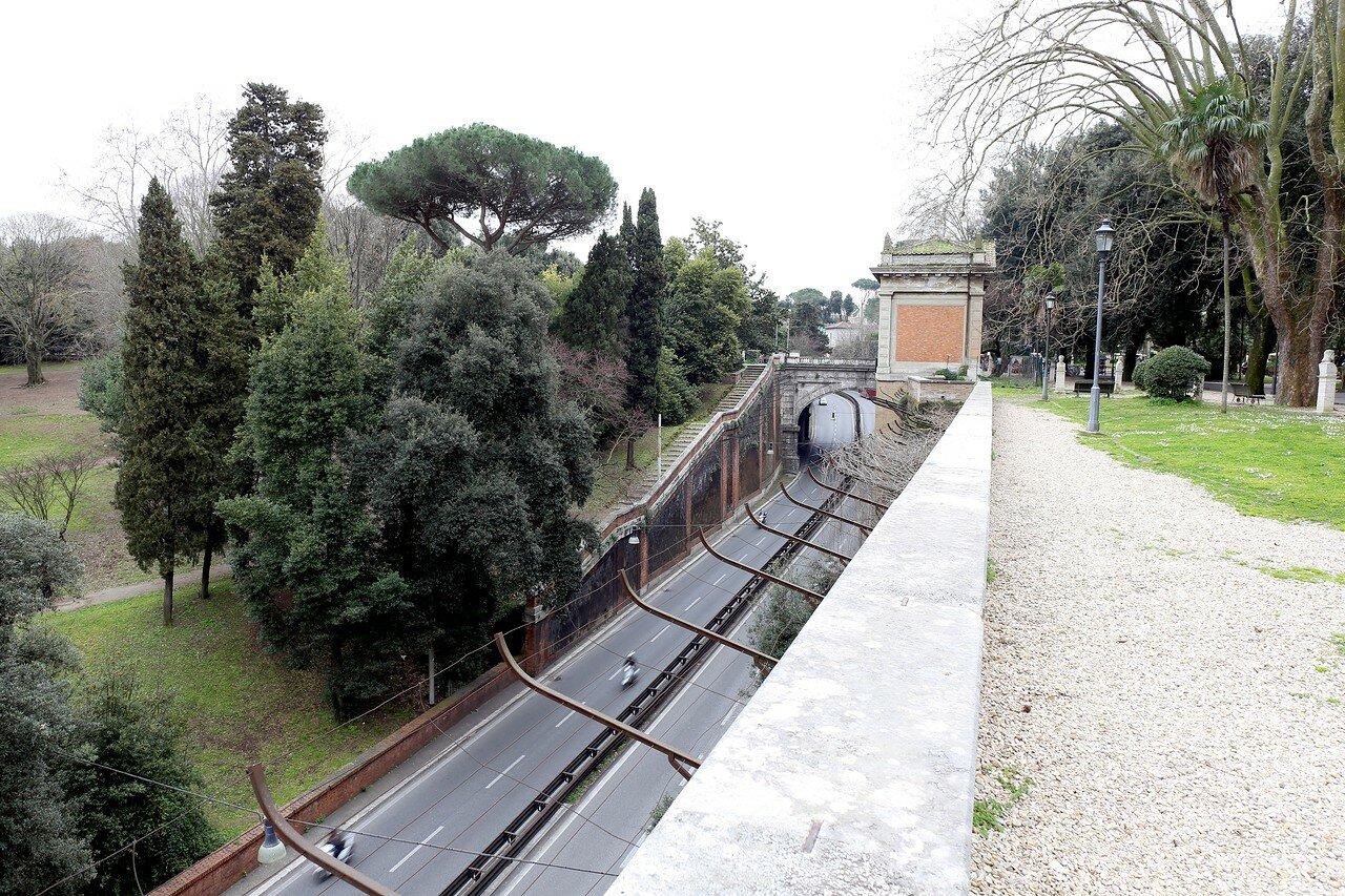 Рим. Скульптуры парка Пинчо