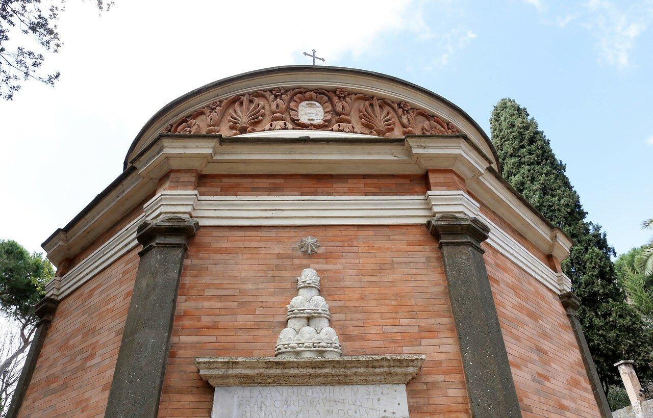 Рим. Церковь Сан-Джованни в Олео (Chiesa di San Giovanni in Oleo)