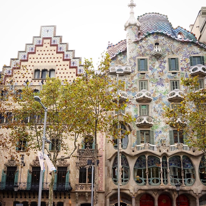 Красивая архитектура Барселоны Instagram фото 1
